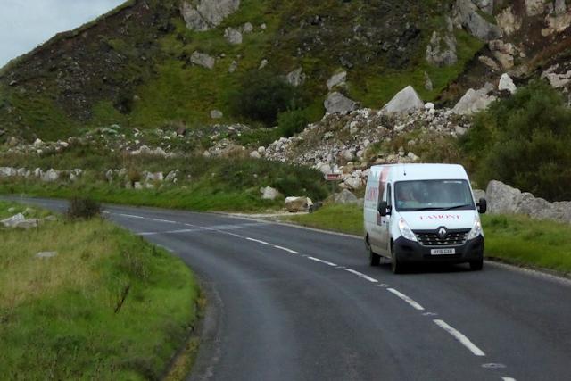 Coast Road (A2) near to Glenarm