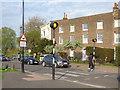 TQ3976 : Zebra Crossing, Montpelier Row, Blackheath  by Stephen Craven