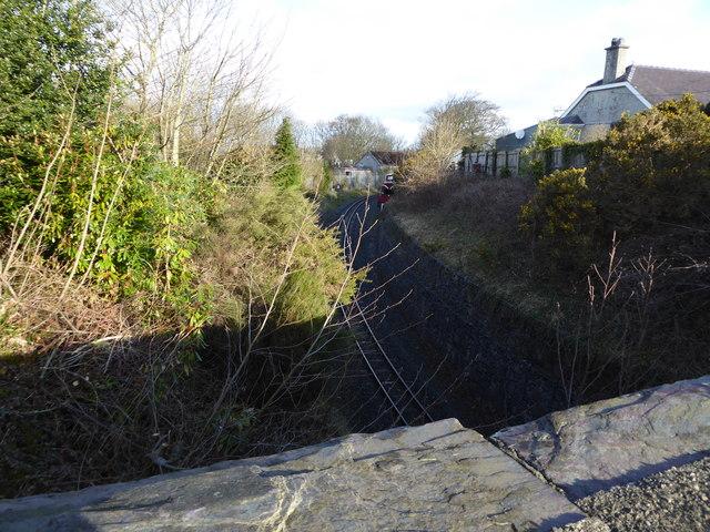Welsh Highland Railway at Llanwnda