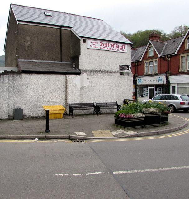 Royal Mail drop box, Dan y Graig Road, Risca