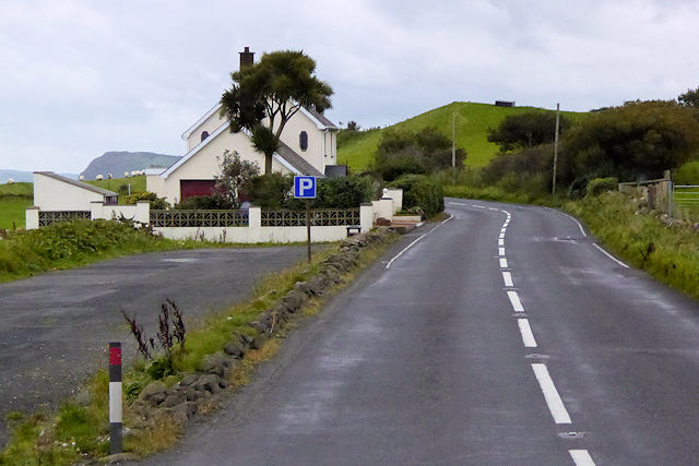 Parking Area and House on the A2 Coast Road