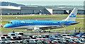 J3775 : PH-EXU, Belfast City Airport (April 2018) by Albert Bridge