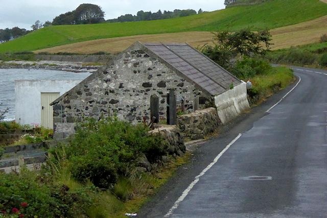 Stone farm Building on the A2 Coast Road