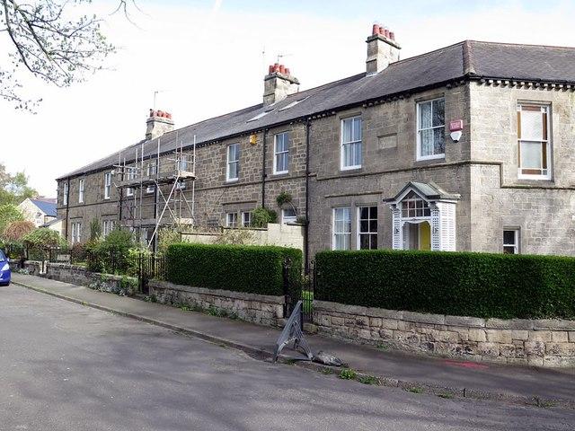 West end of Stephenson Terrace, Wylam