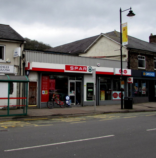 Spar and Post Office, Risca
