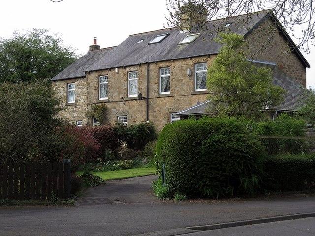Houses near Florist Hall, The Dene, Wylam