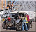 TQ7569 : Broken down! Chatham Historic Dockyard - April 2018 by The Carlisle Kid