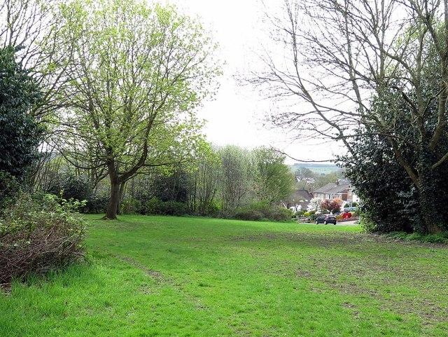 Open space between Jackson Road & The Dene, Wylam