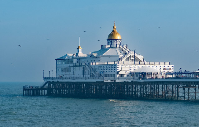 End of the pier, Eastbourne