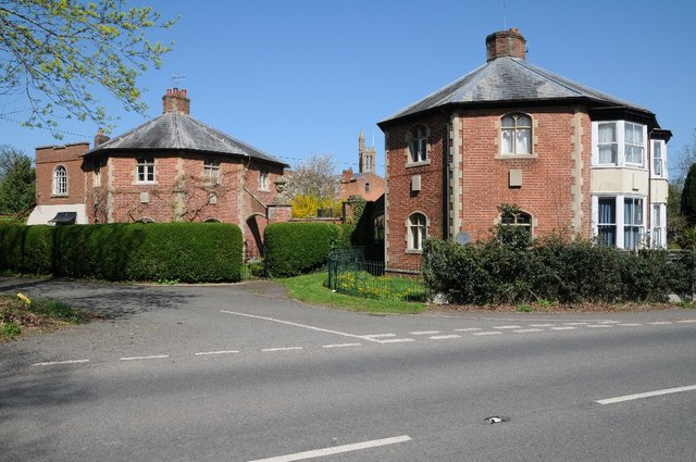 Pair of Lodges to Stanbrook Abbey