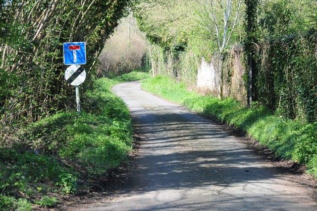 No through road at Stanbrook