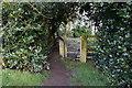 SE1319 : Kirklees way towards New Hey Road by Ian S