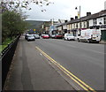 ST2390 : B4591 from Risca towards Pontymister by Jaggery