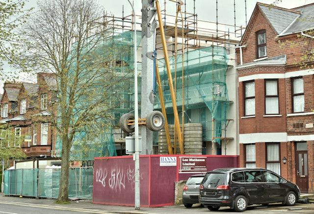 Stranmillis Evangelical Presbyterian church, Belfast  (April 2018)