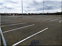 NS5564 : Albion car park by Thomas Nugent