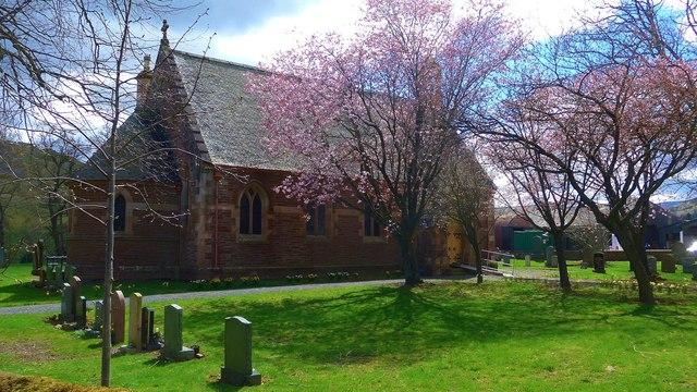 The church at Kirkton Manor