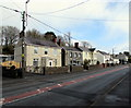 SN4201 : Wires over Dan Lan Road, Pembrey by Jaggery