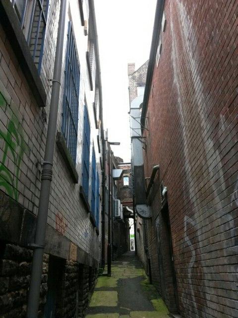 Sheffield: Jew Lane