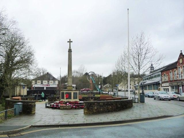 War memorial, Radstock