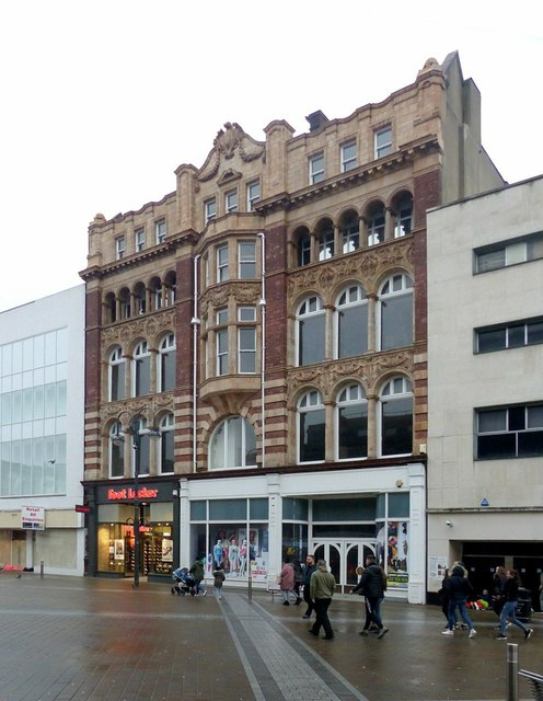 Former Post Office exchange building, Briggate, Leeds