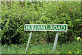 TG4901 : Hobland Road sign by Adrian Cable