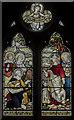 SK8902 : Stained glass window, Ss Peter & Paul church, Wing by Julian P Guffogg