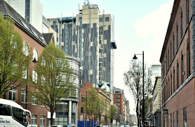 Windsor House redevelopment, Belfast - April 2018(9)