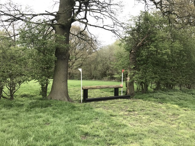 Cross-country fence at Bradwall Manor