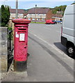 ST2489 : King George VI pillarbox, Meadow Crescent, Pontymister by Jaggery