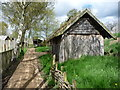 SE6452 : A small part of the Viking village, Yorkshire Museum of Farming by Christine Johnstone