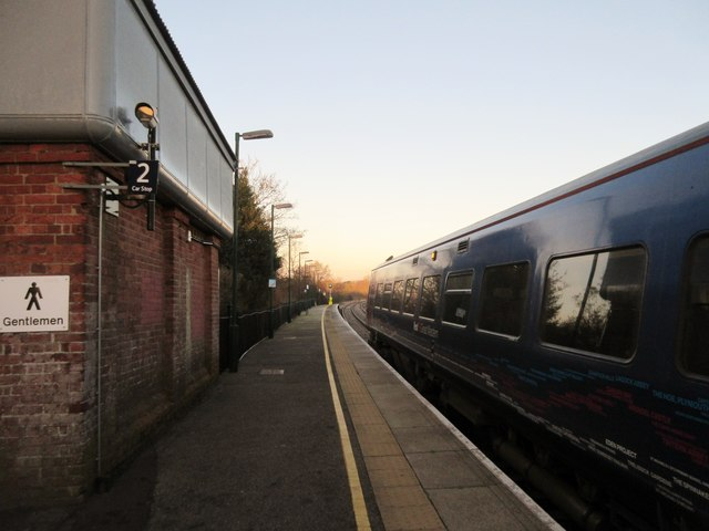 Platform 2, Romsey railway station