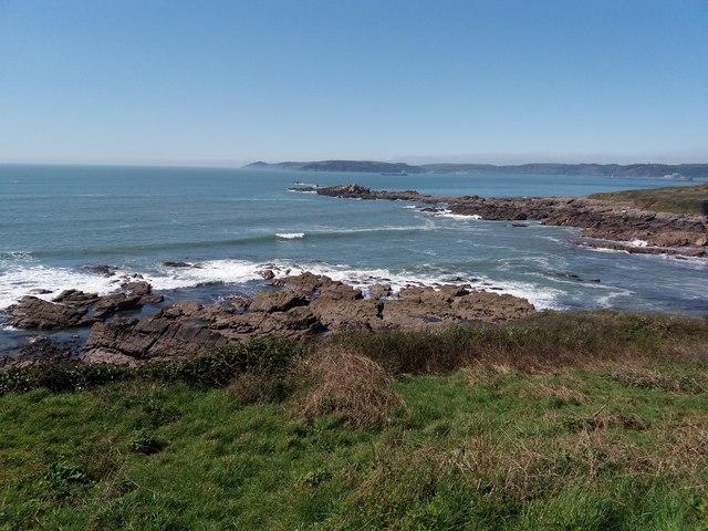 Heybrook Bay: to Cornwall and Rame Head