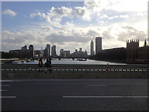 TQ3079 : River Thames at Westminster by Rudi Winter