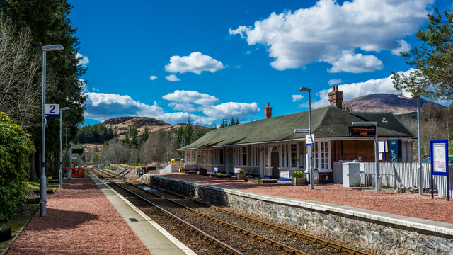 Quiet afternoon at Tulloch Station