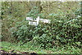 TG4900 : Signpost on Browston Lane by Geographer