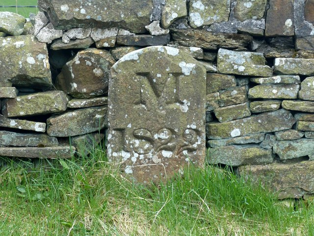 Boundary stone at Windyway