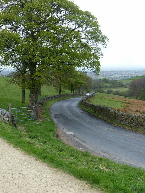 Buxton Old Road at Tegg's Nose