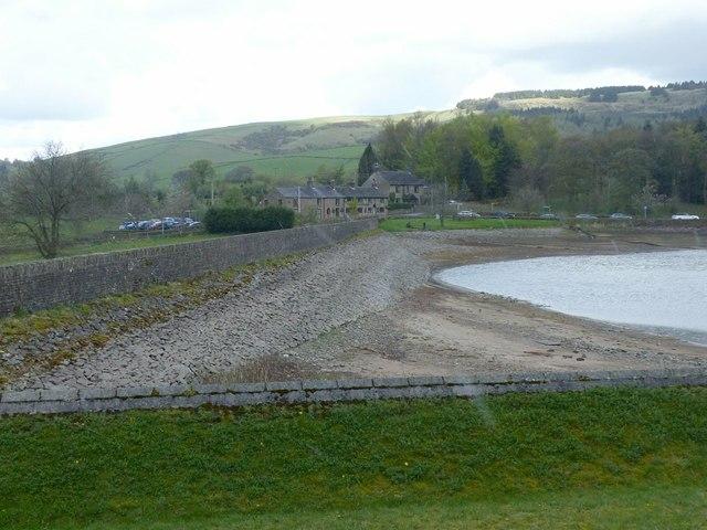 Ridgegate Reservoir dam