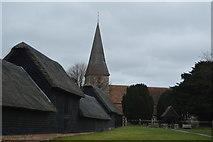 TR2258 : Church of St John by N Chadwick