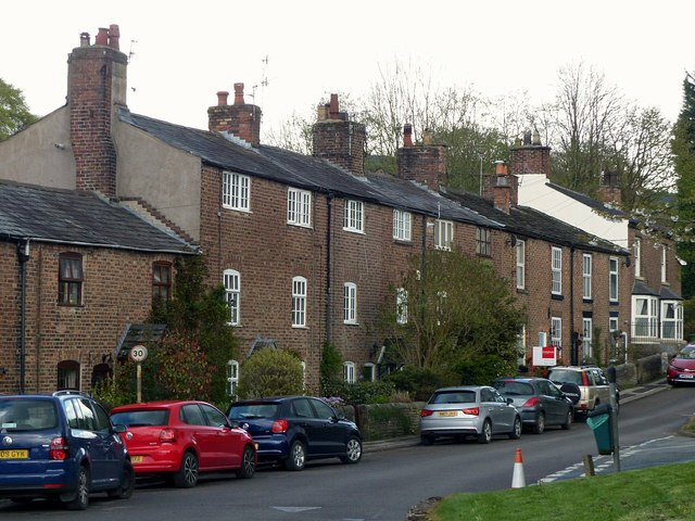Cottages on Main Road, Langley