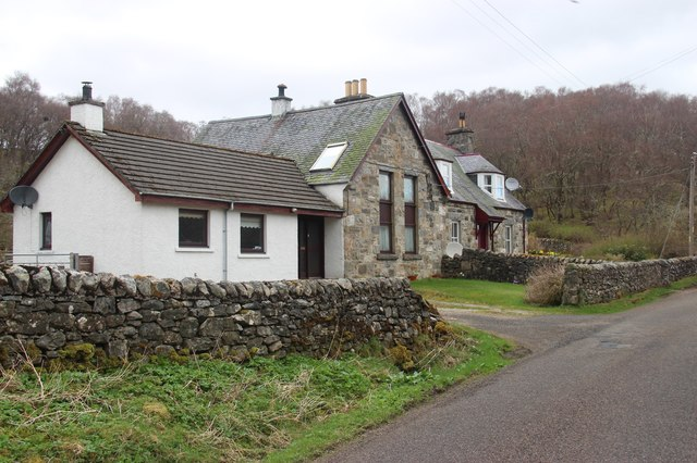 Houses in Strath Naver