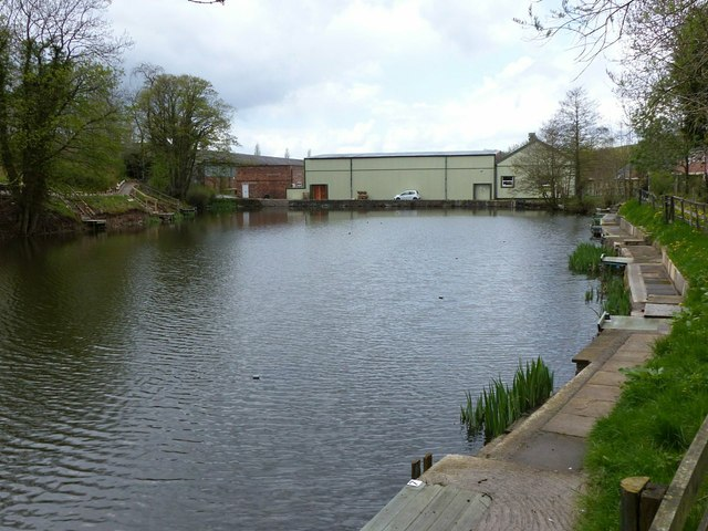 Former mill pond, Langley
