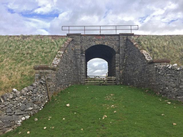 Bridge carrying the Settle To Carlisle Railway