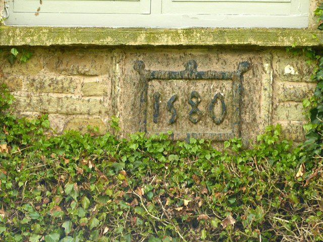 Ridge Hall Farmhouse – datestone