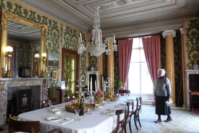 Dining Room at Arlington Court