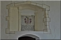 SS6744 : Parracombe: St. Petrock's Church: Samuel Flamant memorial by Michael Garlick