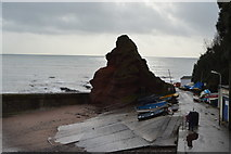 SX9676 : Cowhole Rock by N Chadwick
