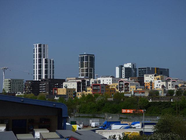 North Greenwich riverside developments