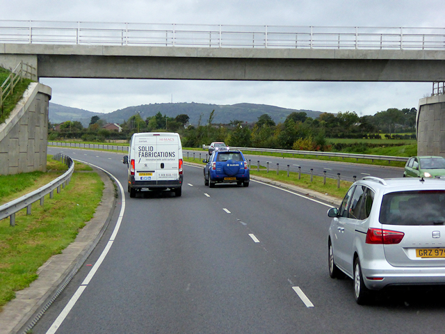 Greenisland, Bridge over Shore Road