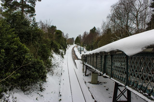 A Snowy Helensburgh Upper